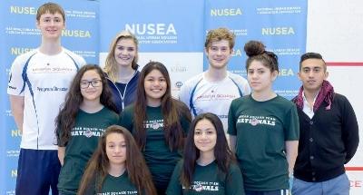 Mission Squash GU15 Team and Staff