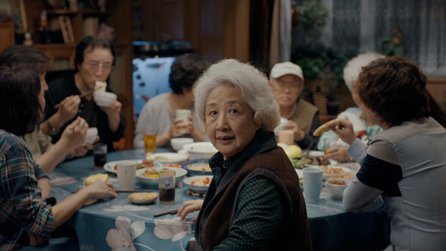 """Zhao Shuzhen as """"Nai Nai""""."""