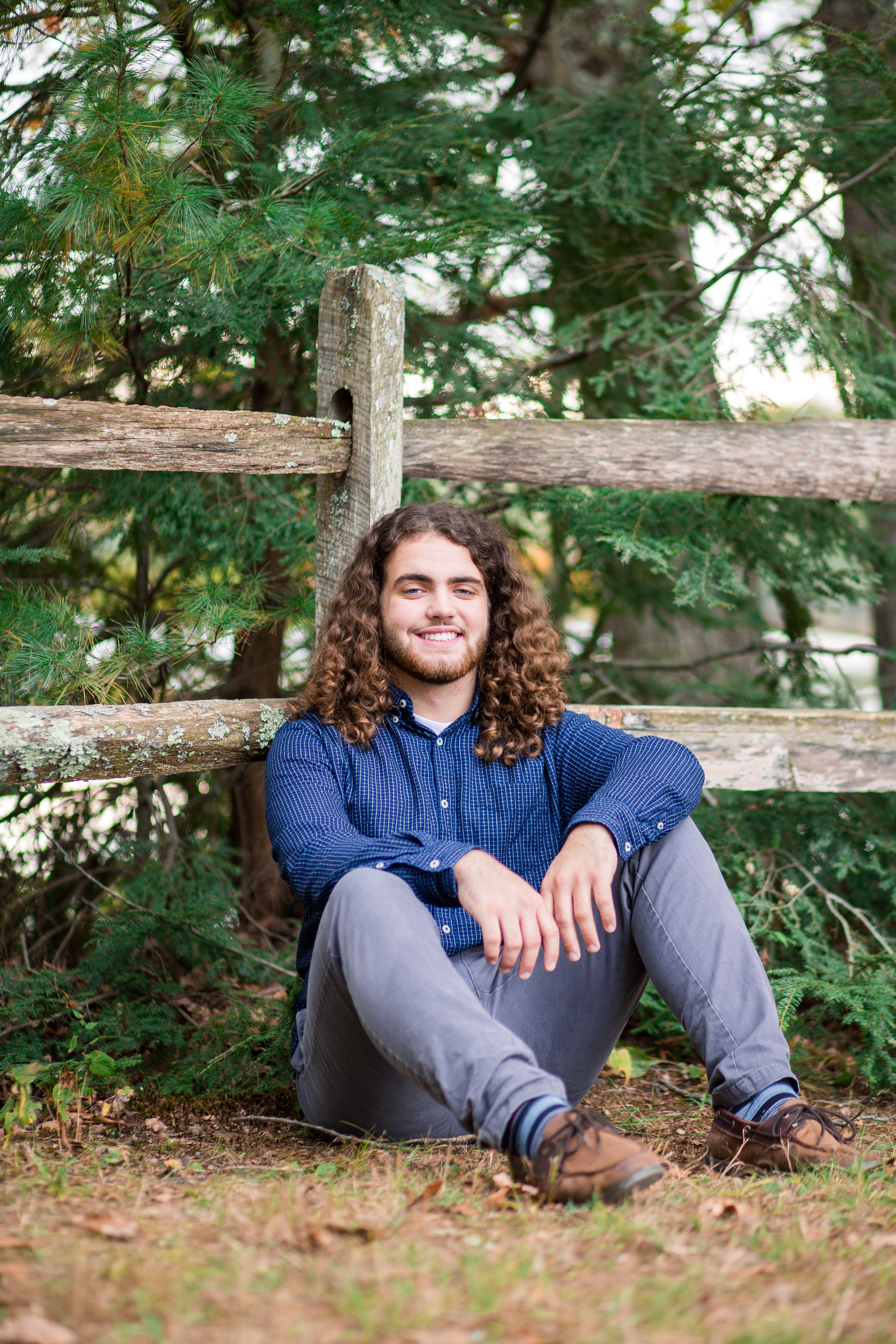 Owen's Senior Photos at Buffumville Lake!