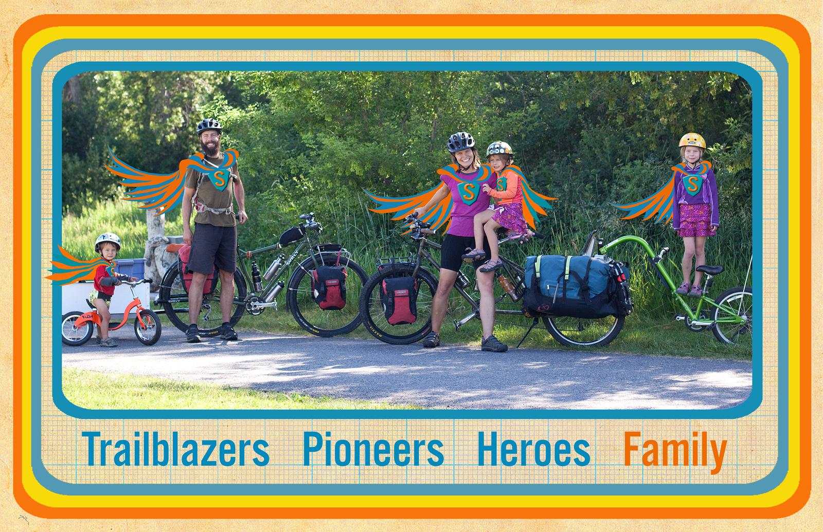 Thanks again to MOTHERLOAD Kickstarter backers and cargo bike heroes, the Lightsier family.