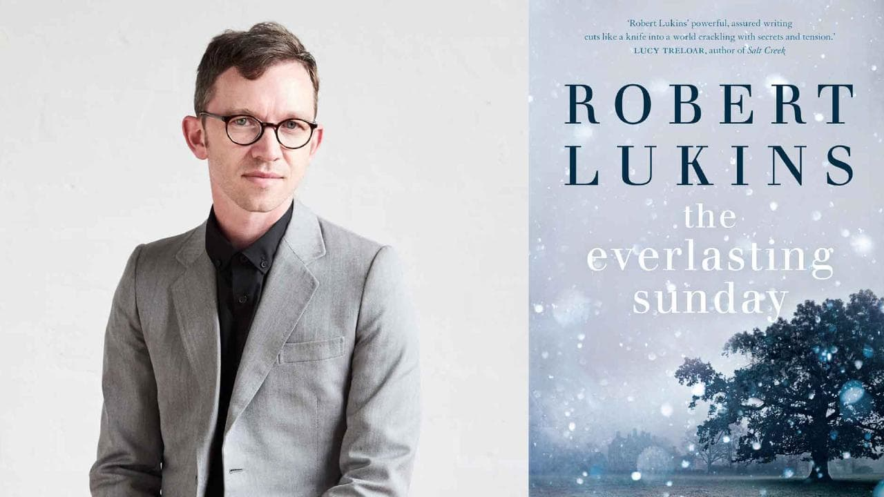 Robert Lukins and his book, The Everlasting Sunday