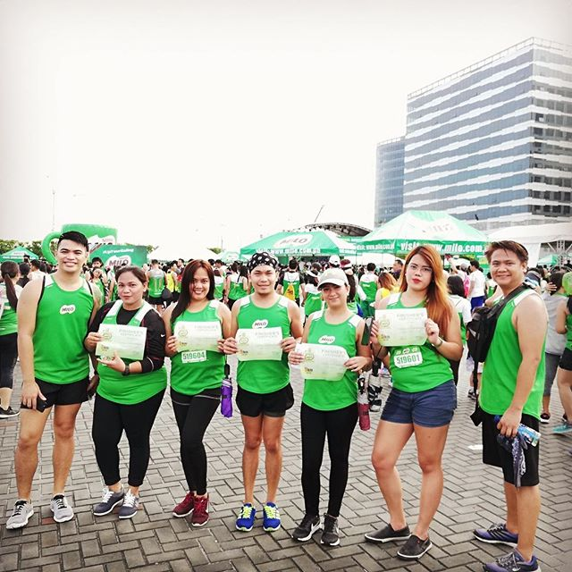 Happy Monday from #TeamTala! Hope you had an active weekend like our team in Manila at the 42nd #milomarathon, the Philippines' largest running event!