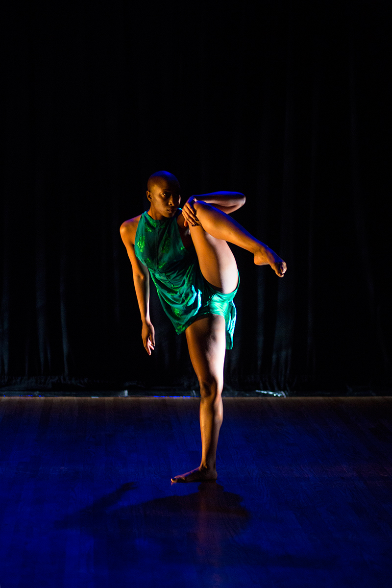 The Solo(s) Project : performer - Jade Solomon Curtis; photo by Tim Summers