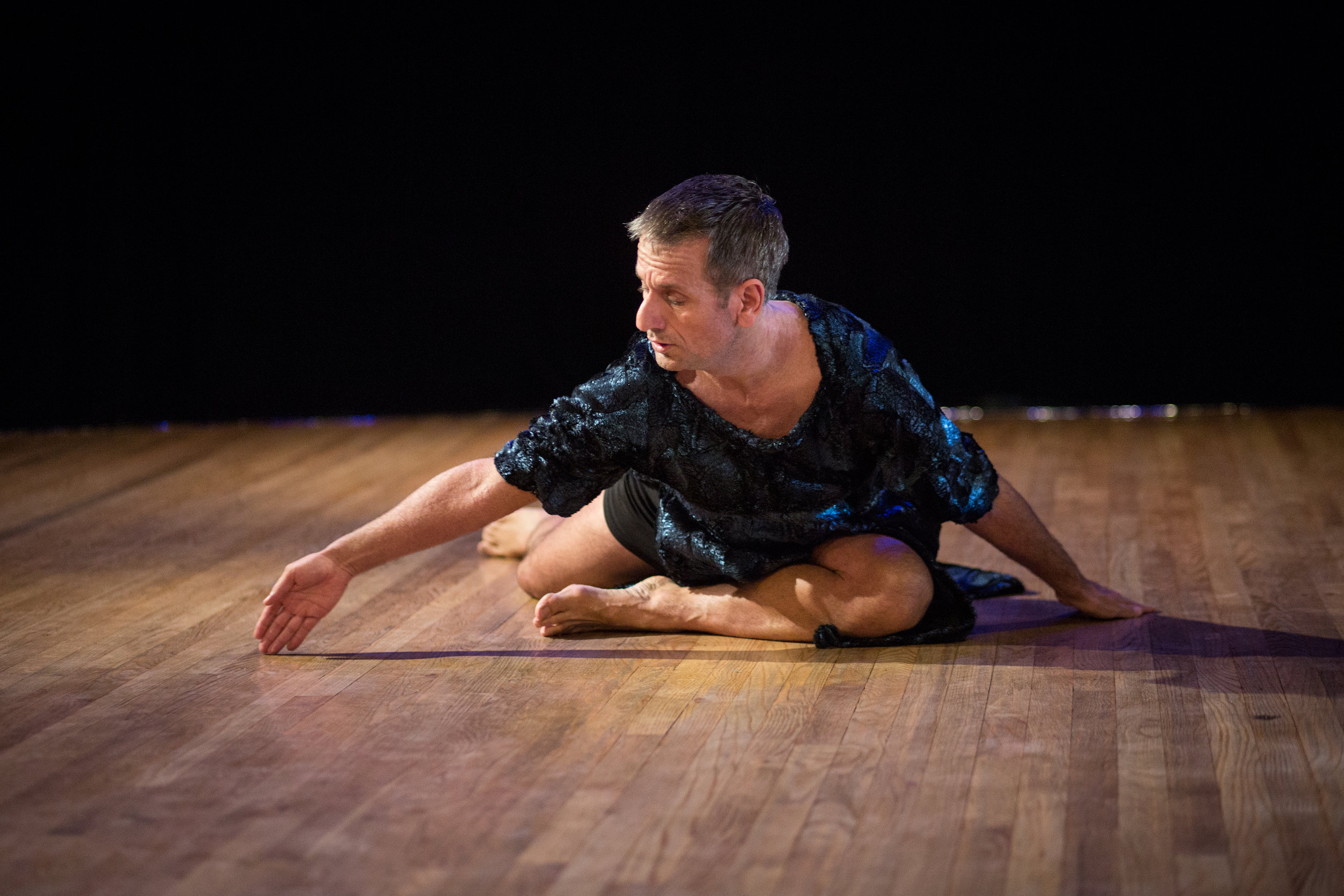 The Solo(s) Project : performer - Mark Haim; photo by Tim Summers