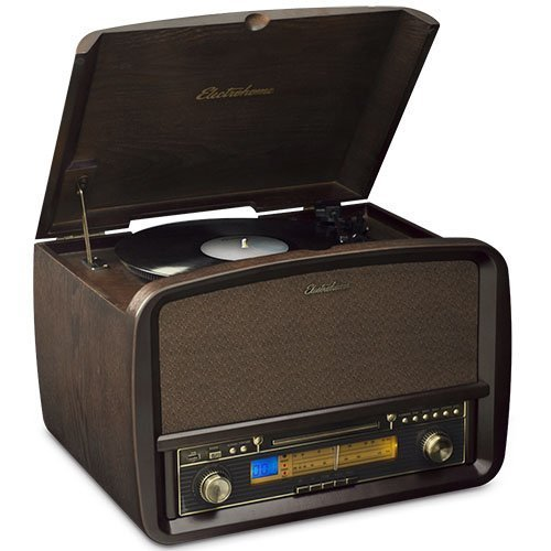 The best record player under 200 -- Electrohome Signature vinyl record player all-in-one.jpg