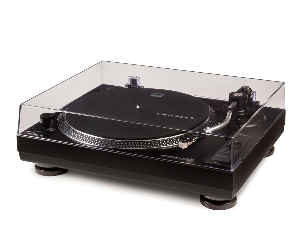 Crosley C200A-BK Direct Drive Turntable Best Turntable under $200