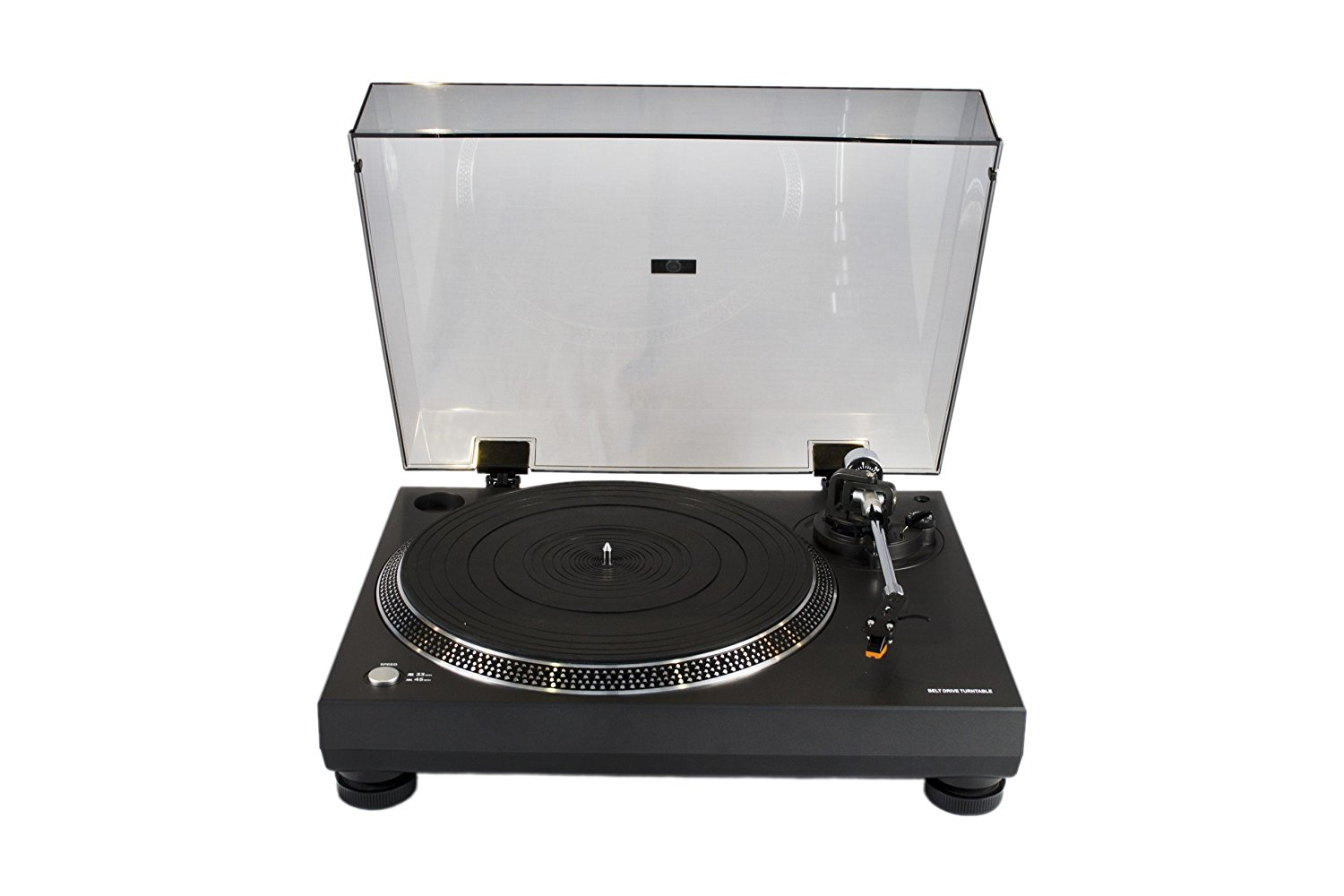 Connected Essentials Turntable for Vinyl Records Best turntable under $200