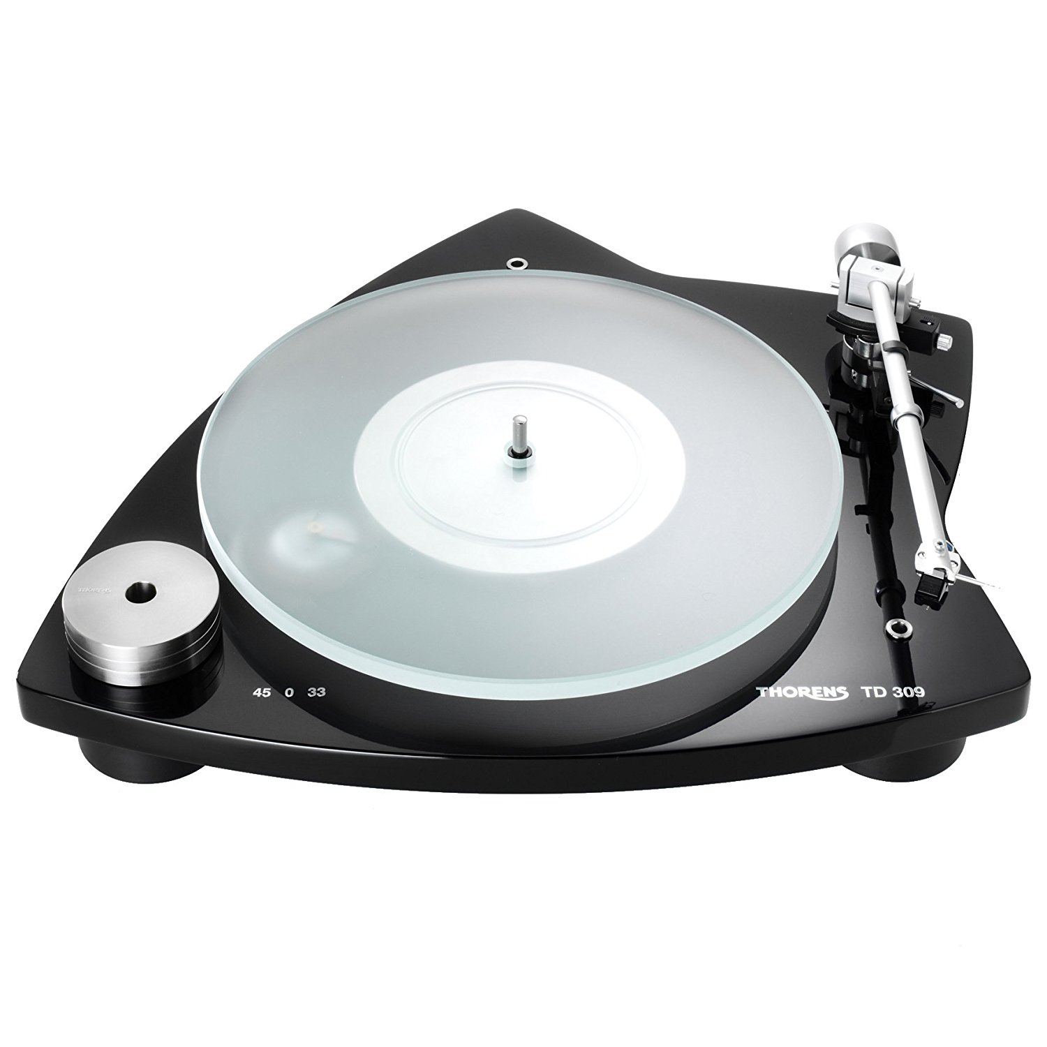 Best audiophile turntable Thorens TD 309 Tri-Balance Manual Turntable - TP92 AT95B