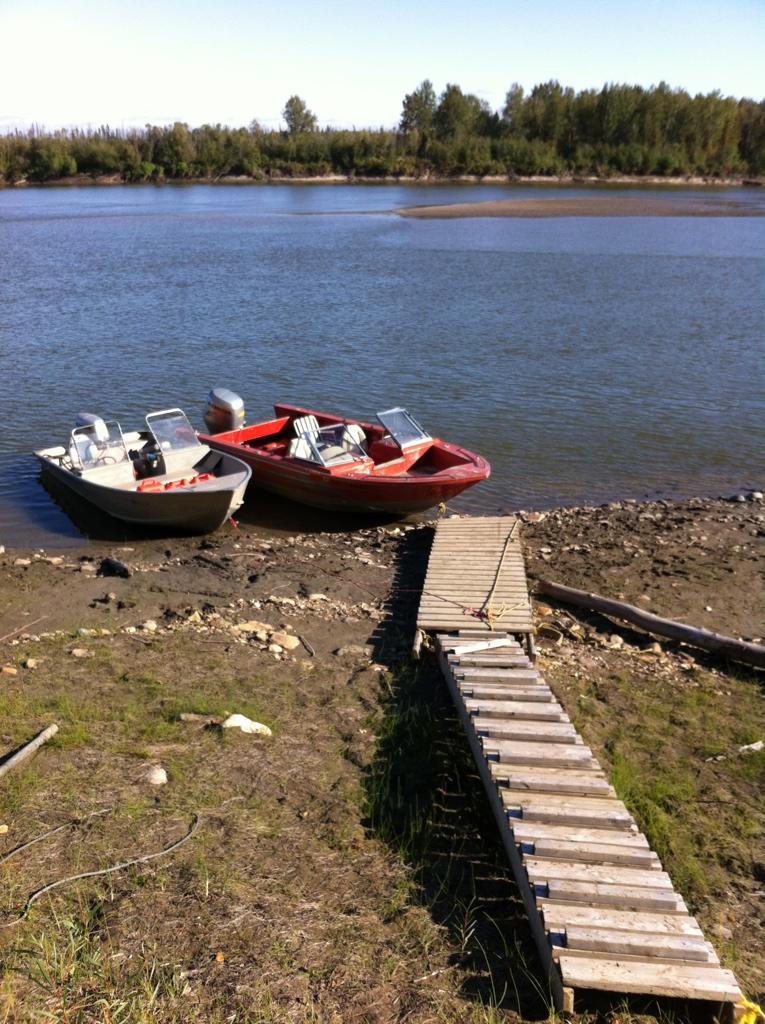 Dock at Arne Hermansen's Cabin