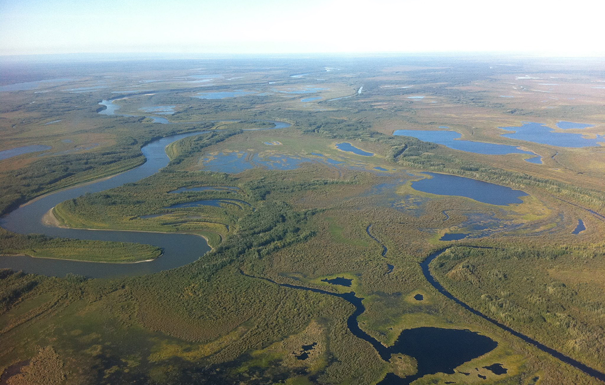 Peace-Athabasca Delta (PAD), Wood Buffalo National Park and Fort Chipewyan, AB