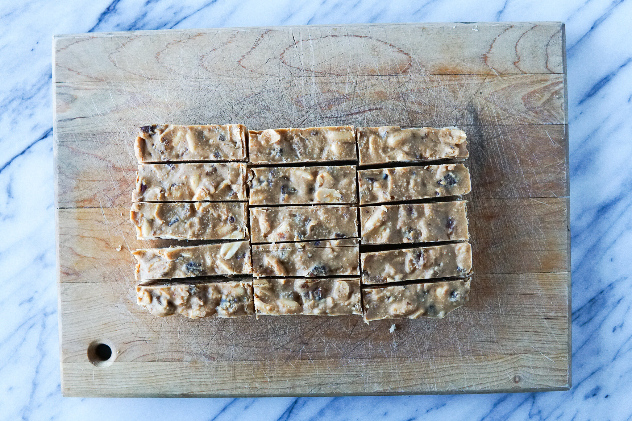 Once they have chilled, cut them into bars (or squares or whatever you want!)