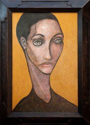 Olivia, 2010, acrylic on canvas