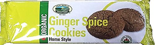 New World Foods Organic Ginger Spice Cookies