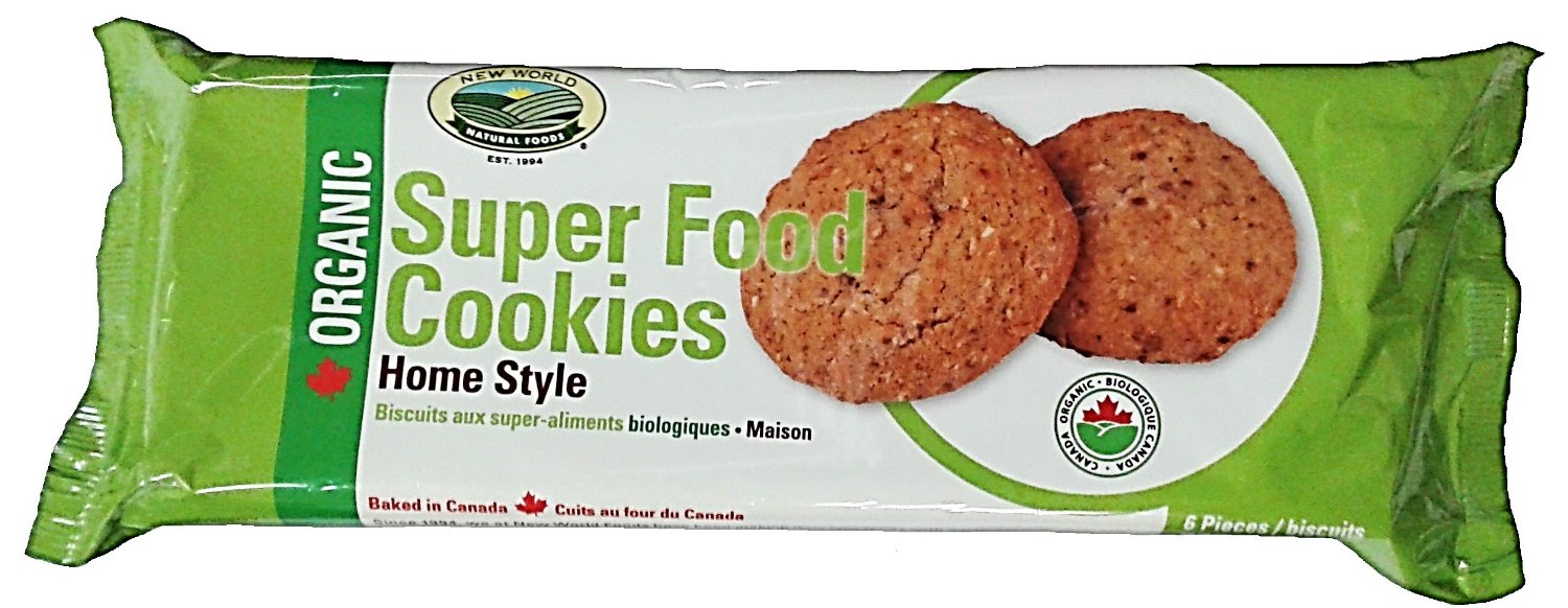 New World Foods Organic Super Food Cookies