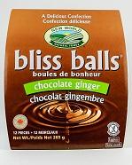 Chocolate Ginger Bliss Balls