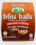Chocolate Cranberry Bliss Balls