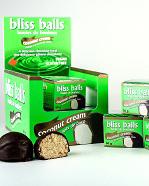 Coconut Cream Bliss Balls
