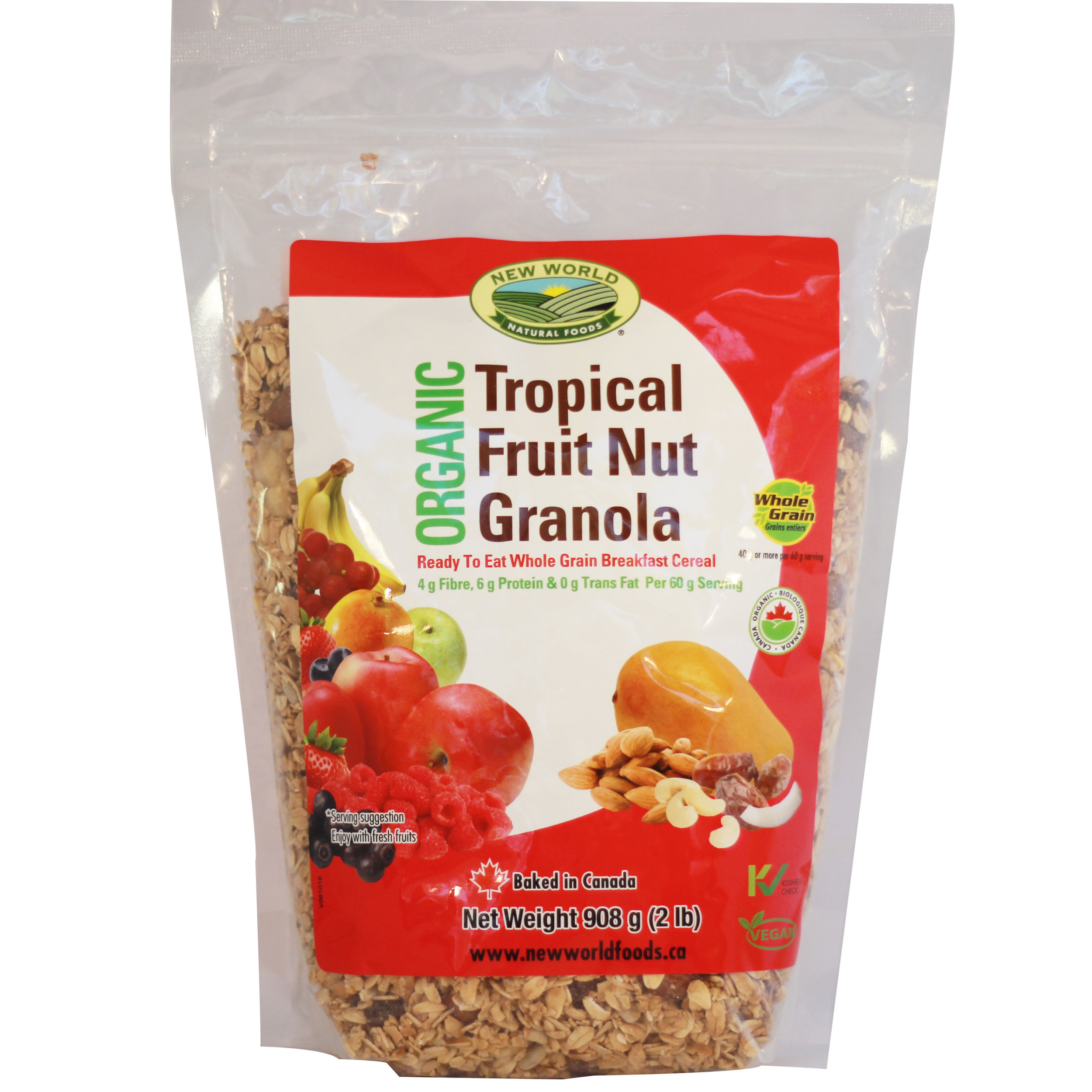 Tropical Fruit Nut Muesli