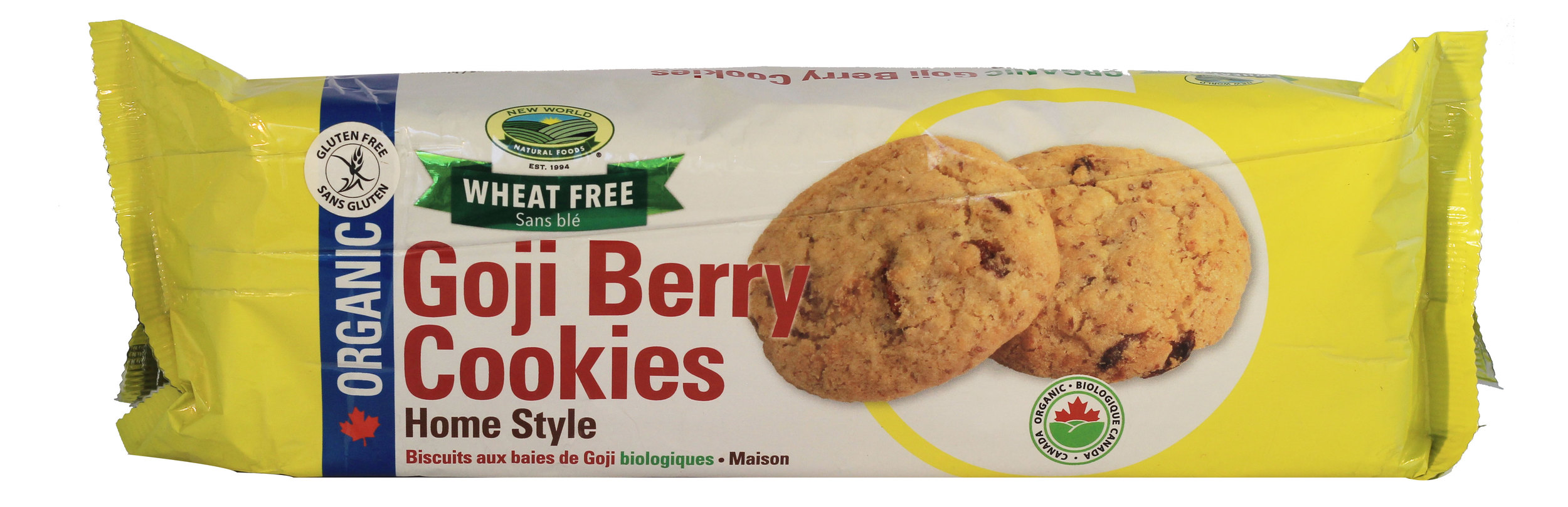 Gluten Free Goji Berry Cookies