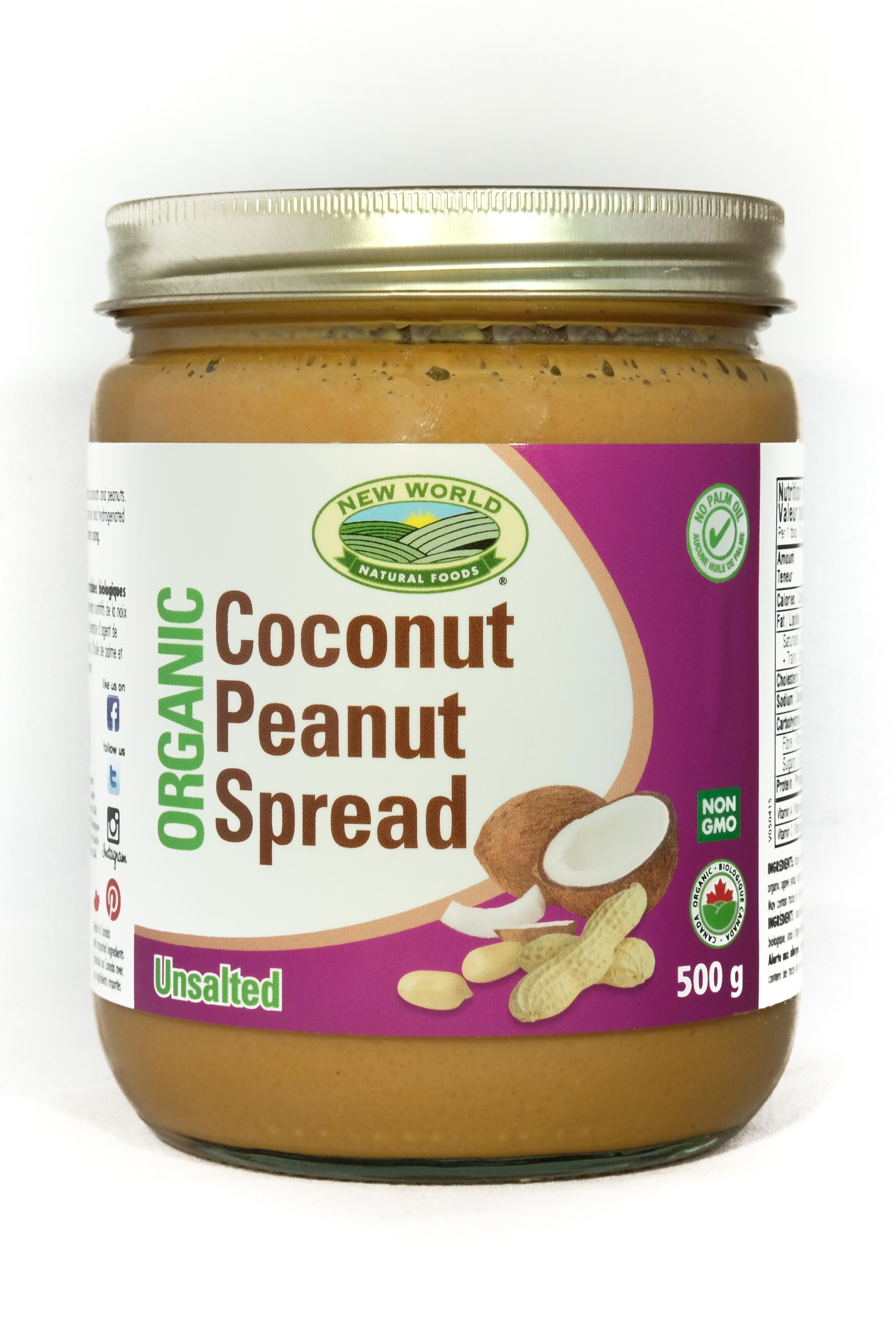 Smooth Coconut Peanut Spread