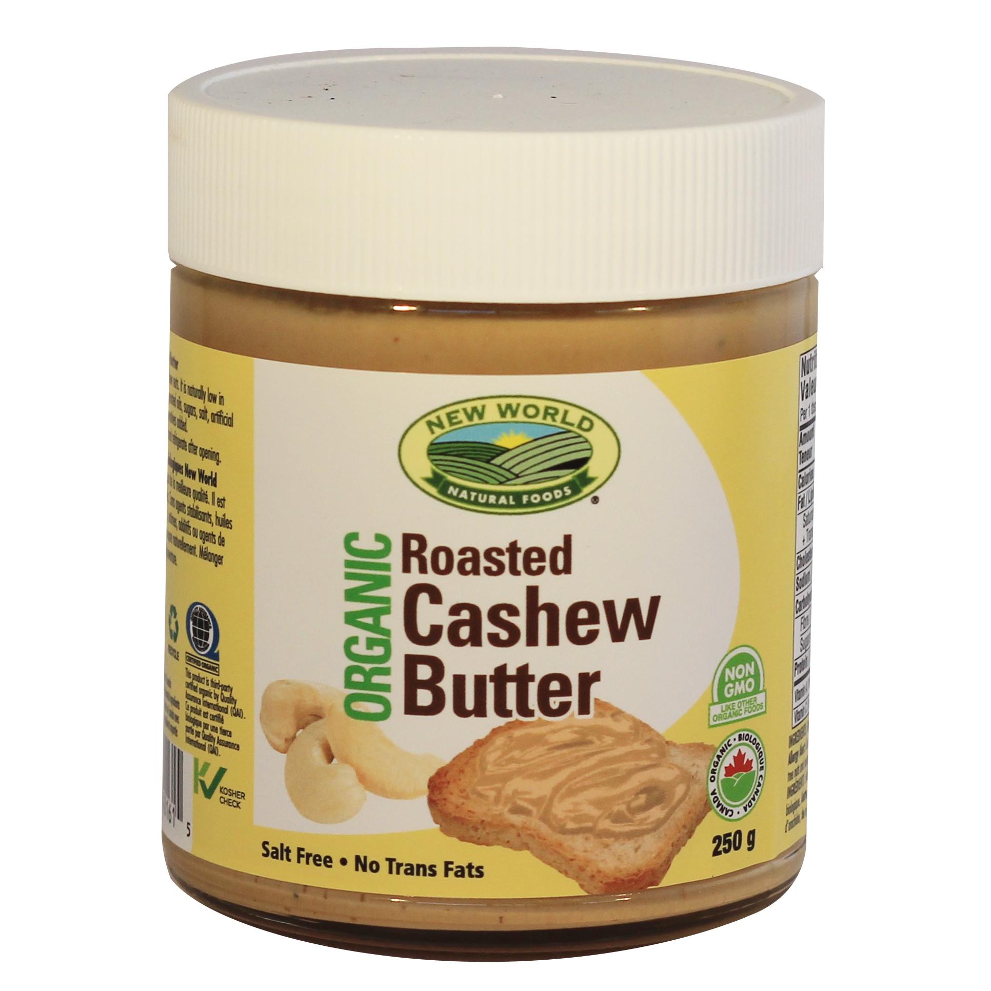 Organic Roasted Cashew Butter