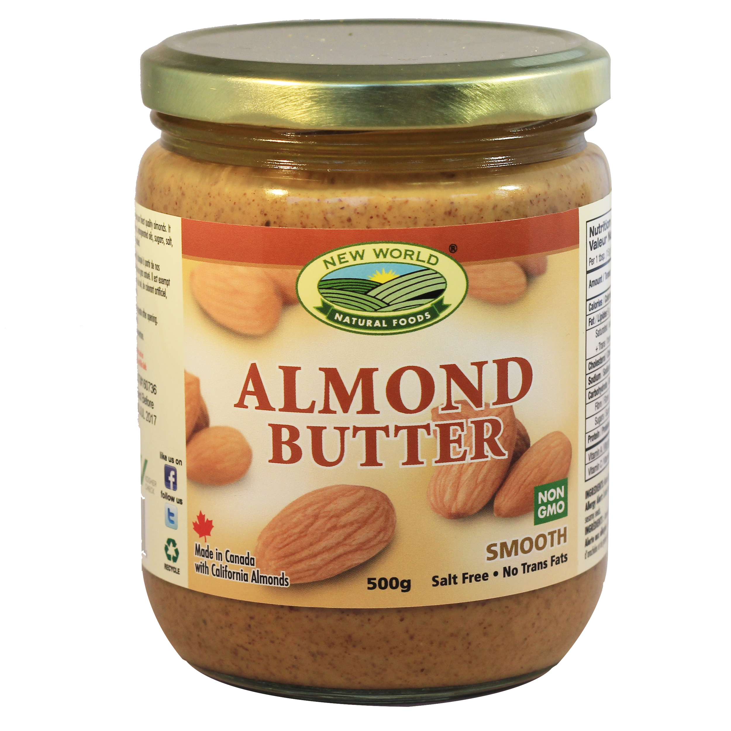 Organic Smooth Almond Butter
