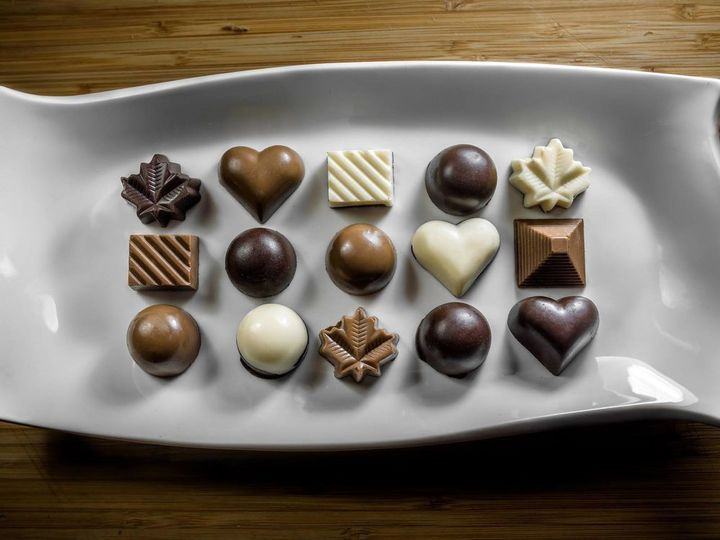 These chocolates are the merging of Hadhads' heritage and the warmth of Canada that embraced them.