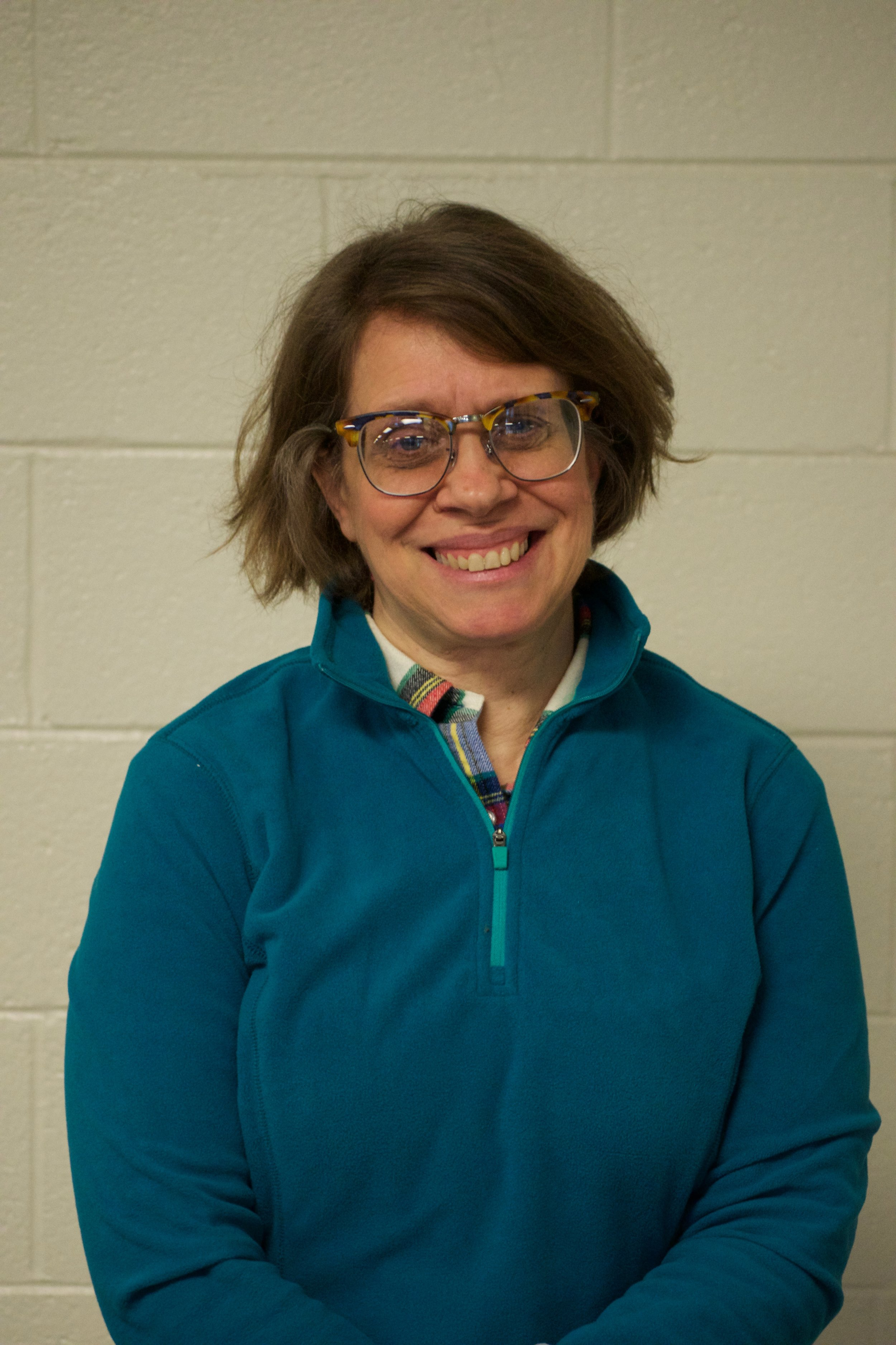 Mrs. Lounsbury teaches science at Charter and is in her 13th year here. Her understanding of biology, physics, and life contributed greatly to the creation of this project. Photo by Connor Carp.