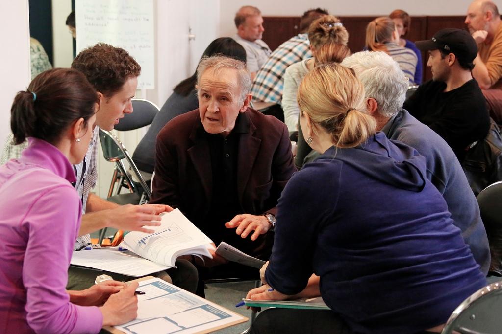 Discussion - deliberative democracy facilitation