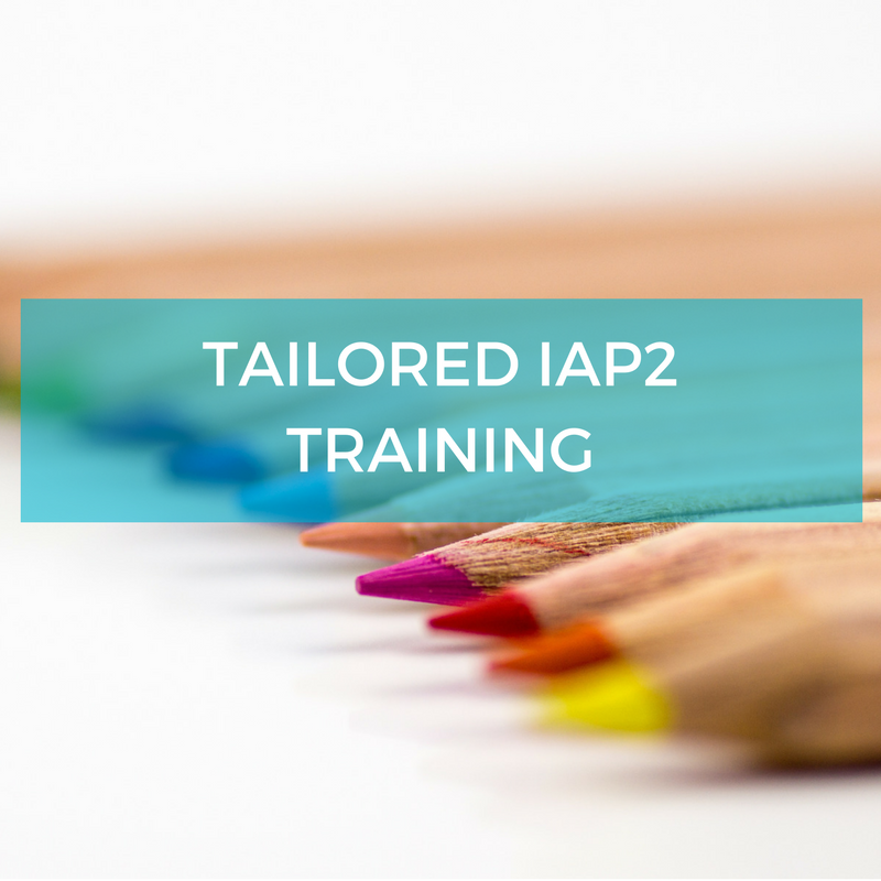 Tailored IAP2 Engagement Training