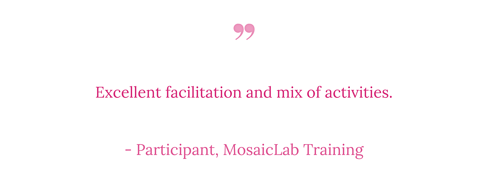 MosaicLab training