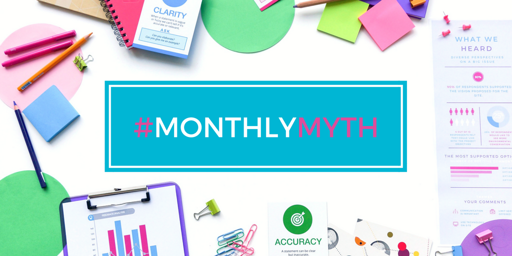 Free monthly myth - communication around engagement projects and risk