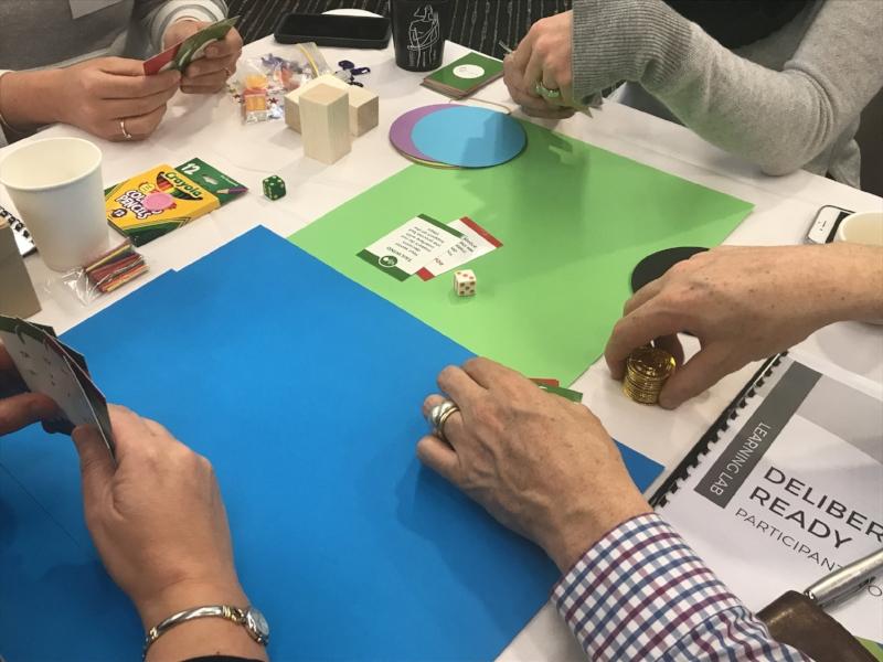 MosaicLab - deliberative engagement, deliberation ready trainiing