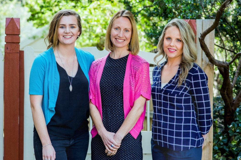 Jane Kate and Rachael - MosaicLab community engagement facilitators Melbourne Australia