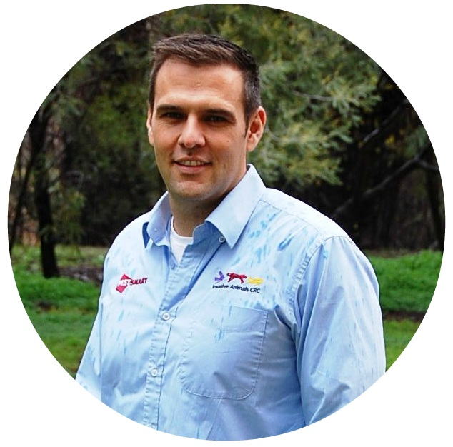 Michael Reid   Program Manager - Established invasive species   Department of Economic Development, Jobs, Transport and Resources