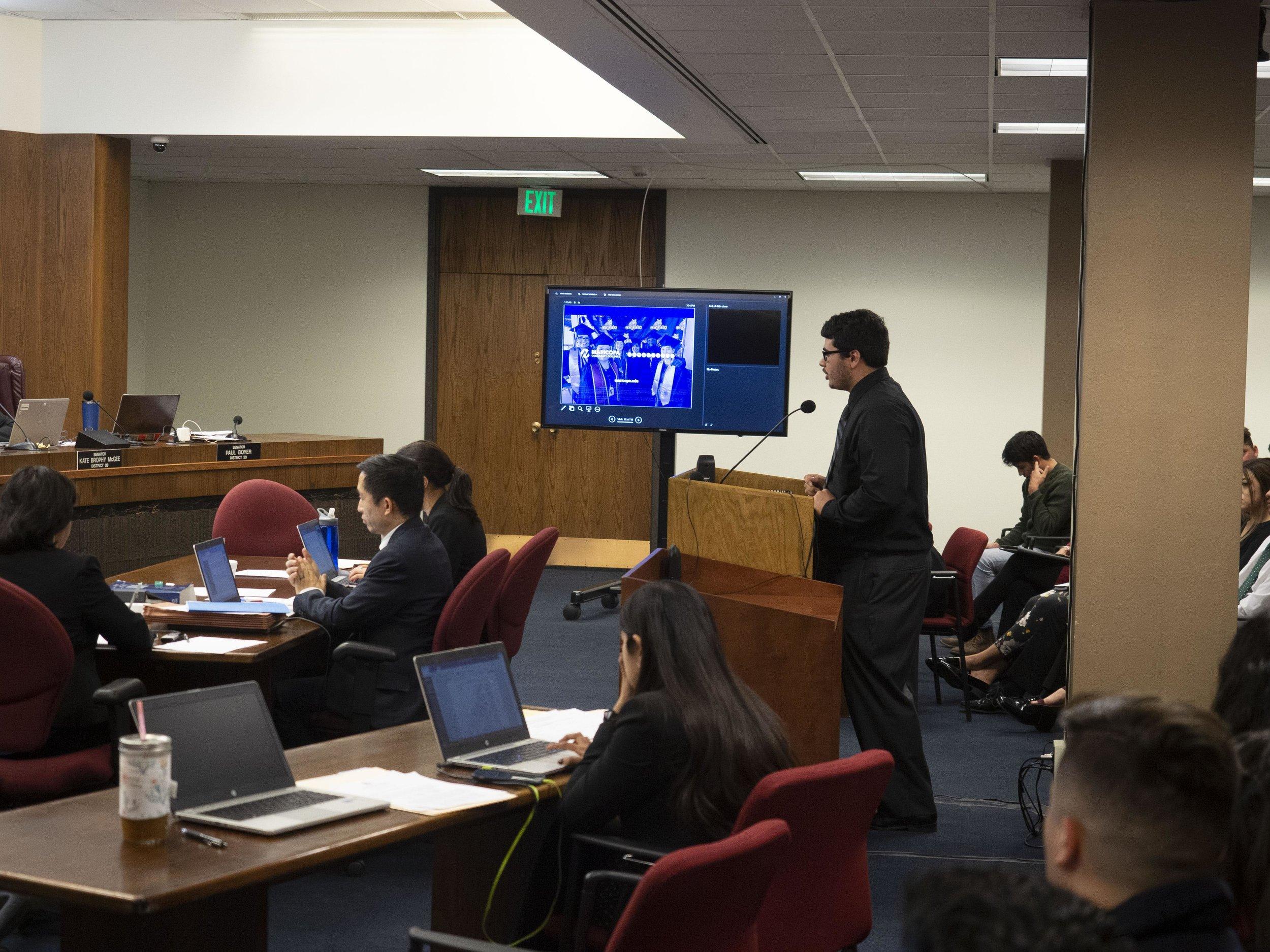 German testifying for SB1217