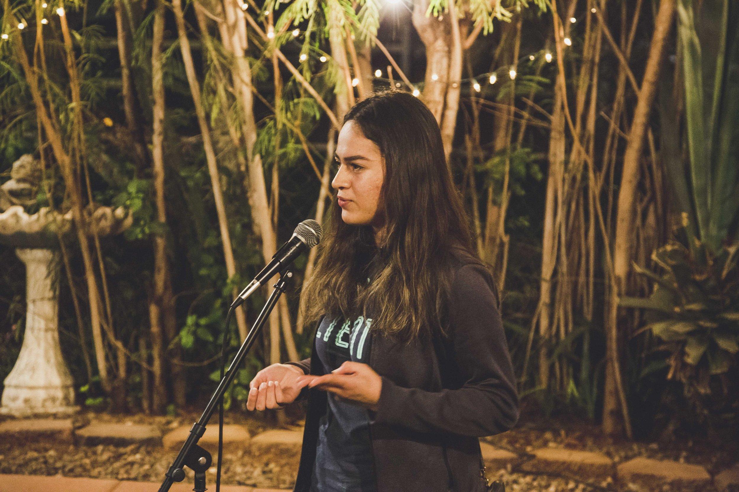 Deya Garcia - Student Organizer at Aliento