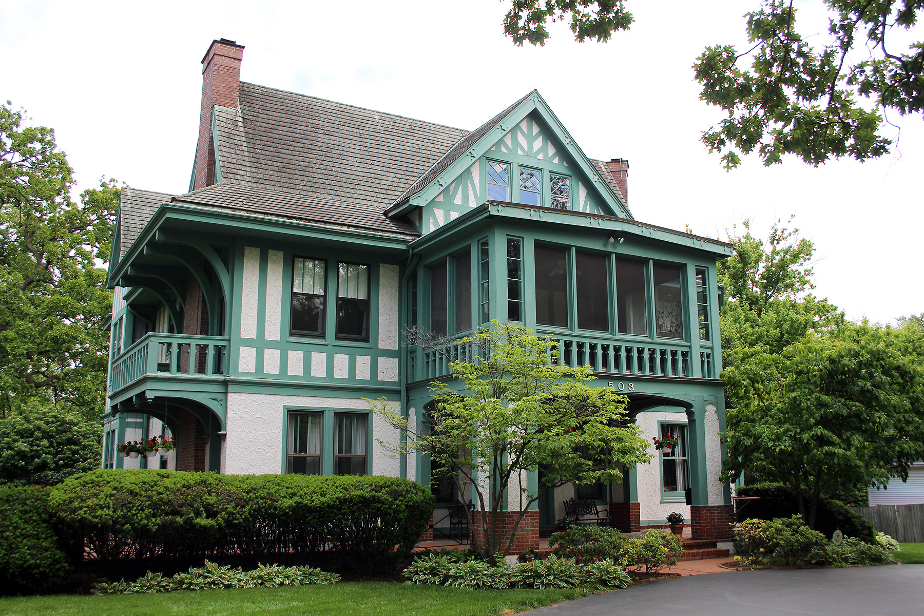 Seven Gables House (former judge owned this and surrounding land)