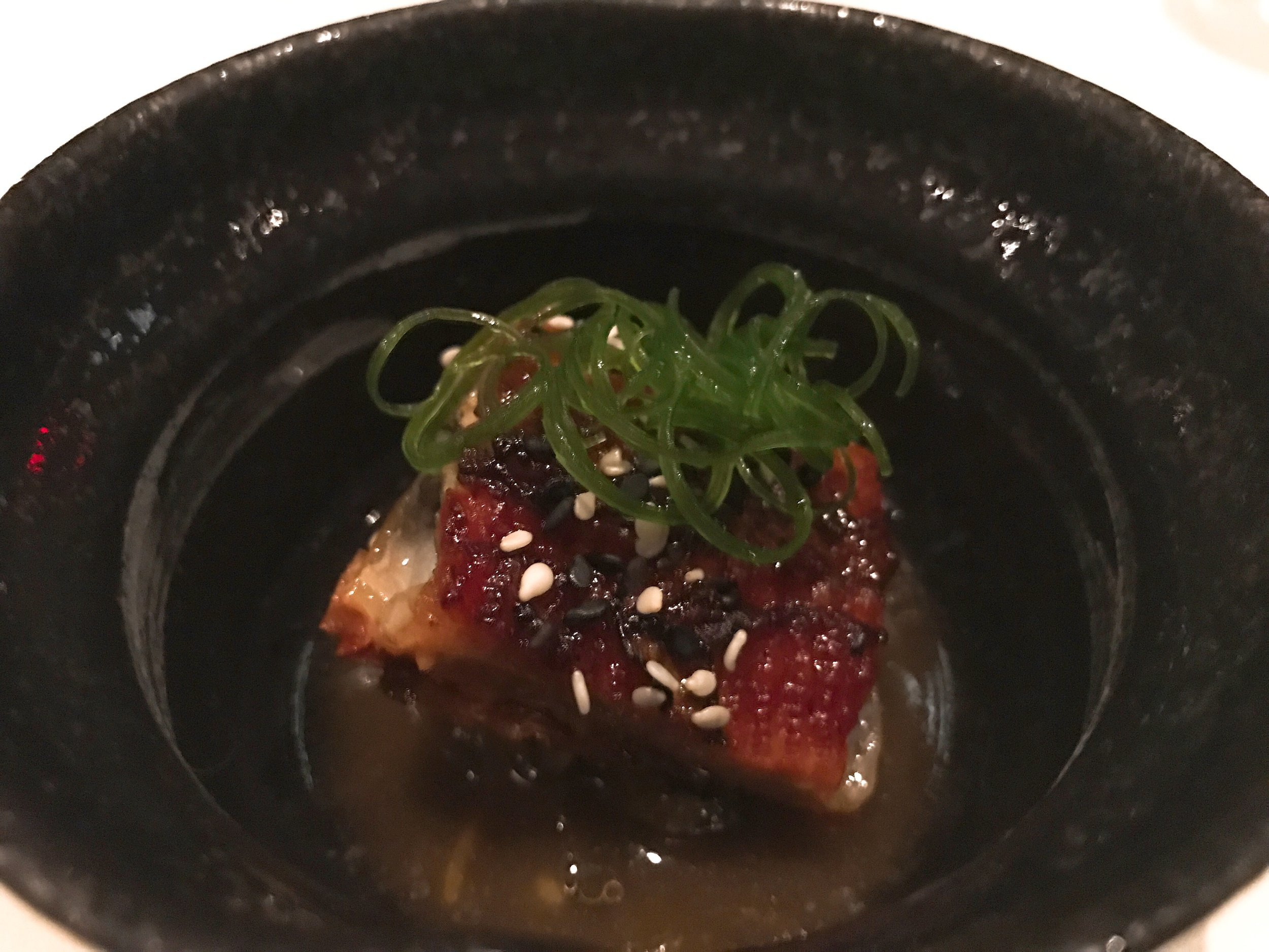 Barbecued Eel with Sesame and Yuzu