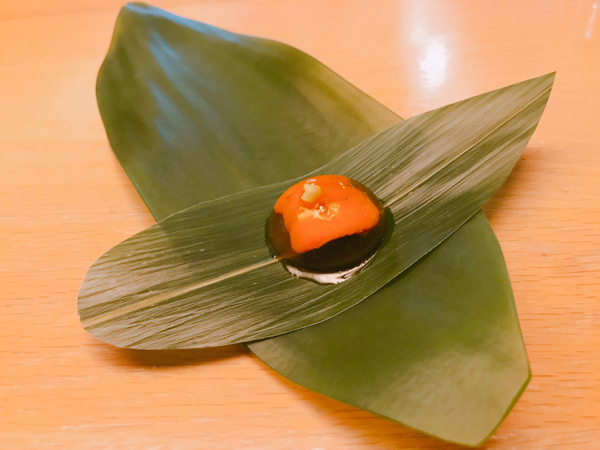 Hokkaido Uni and Iberico Droplet