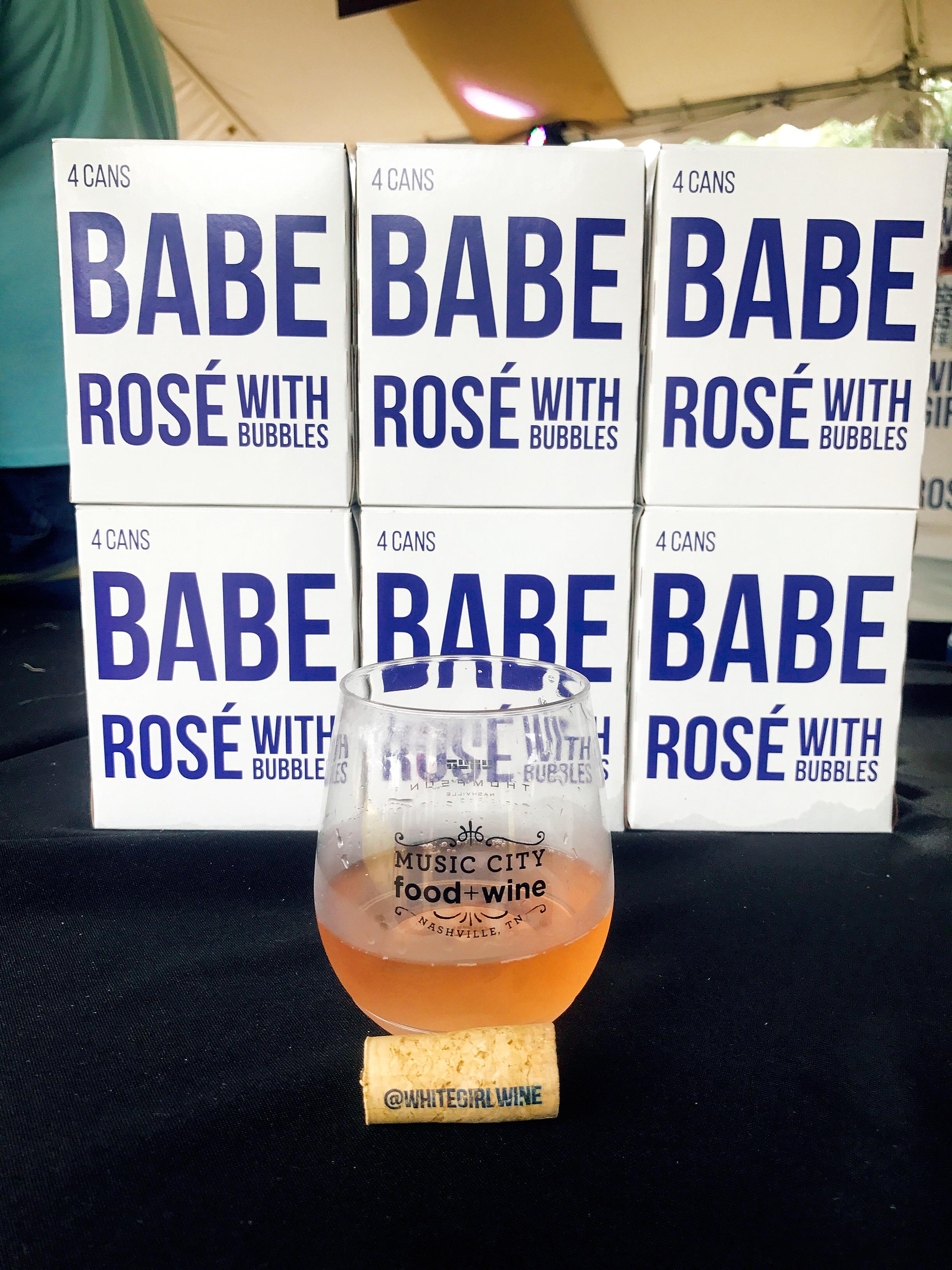 Babe Rosé with Bubbles