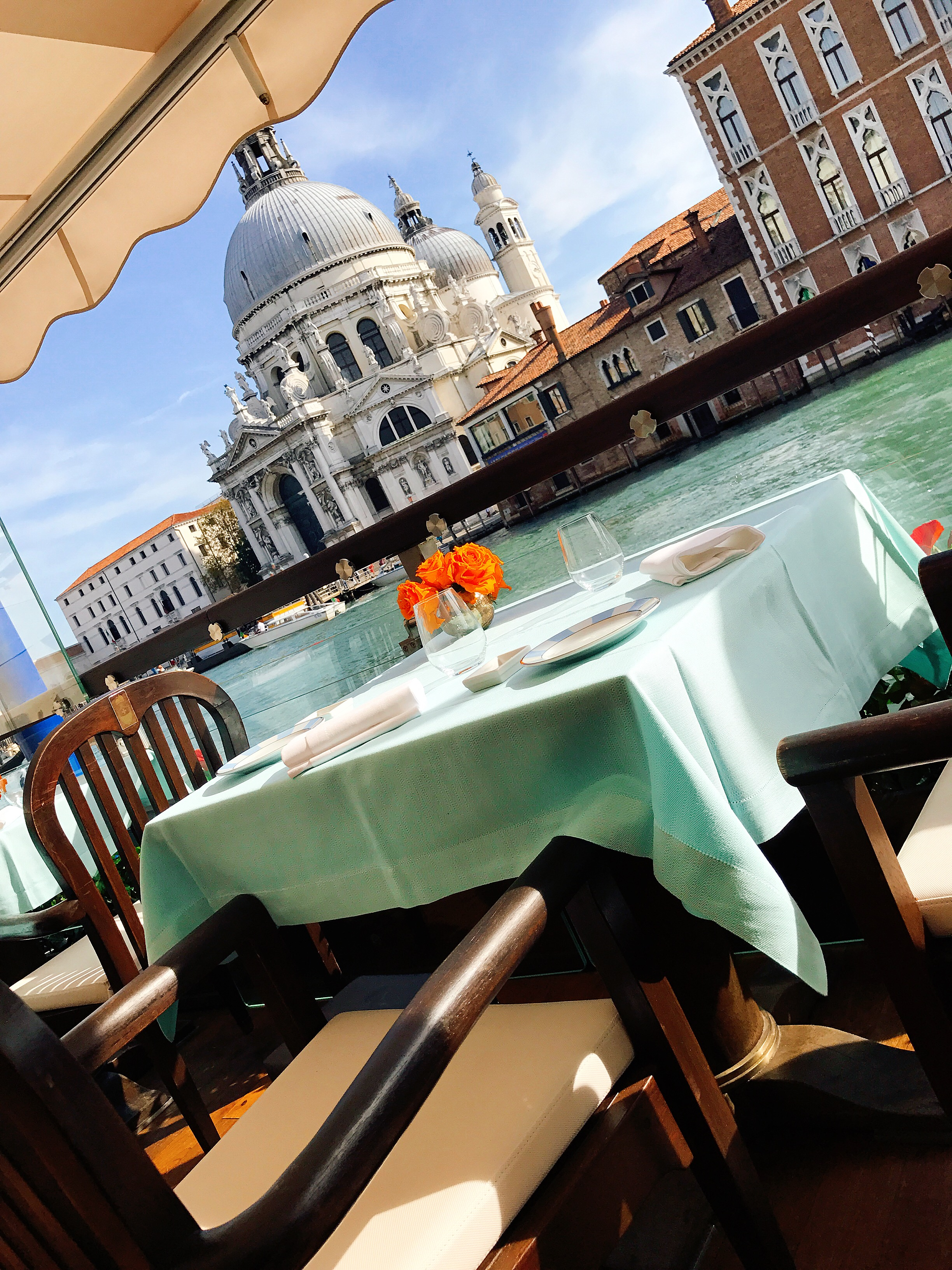 The Gritti Terrace: Is this just dreamy?