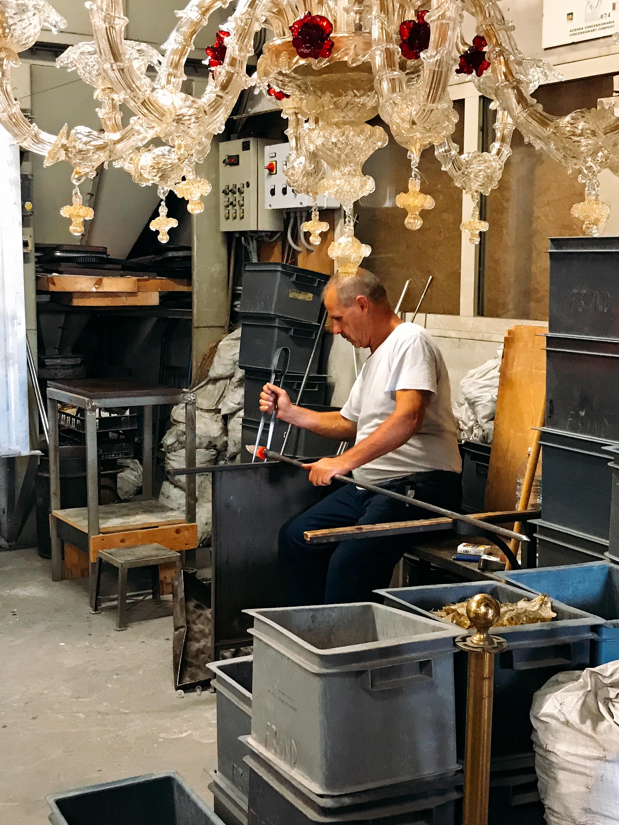 Murano: Creating a work of art