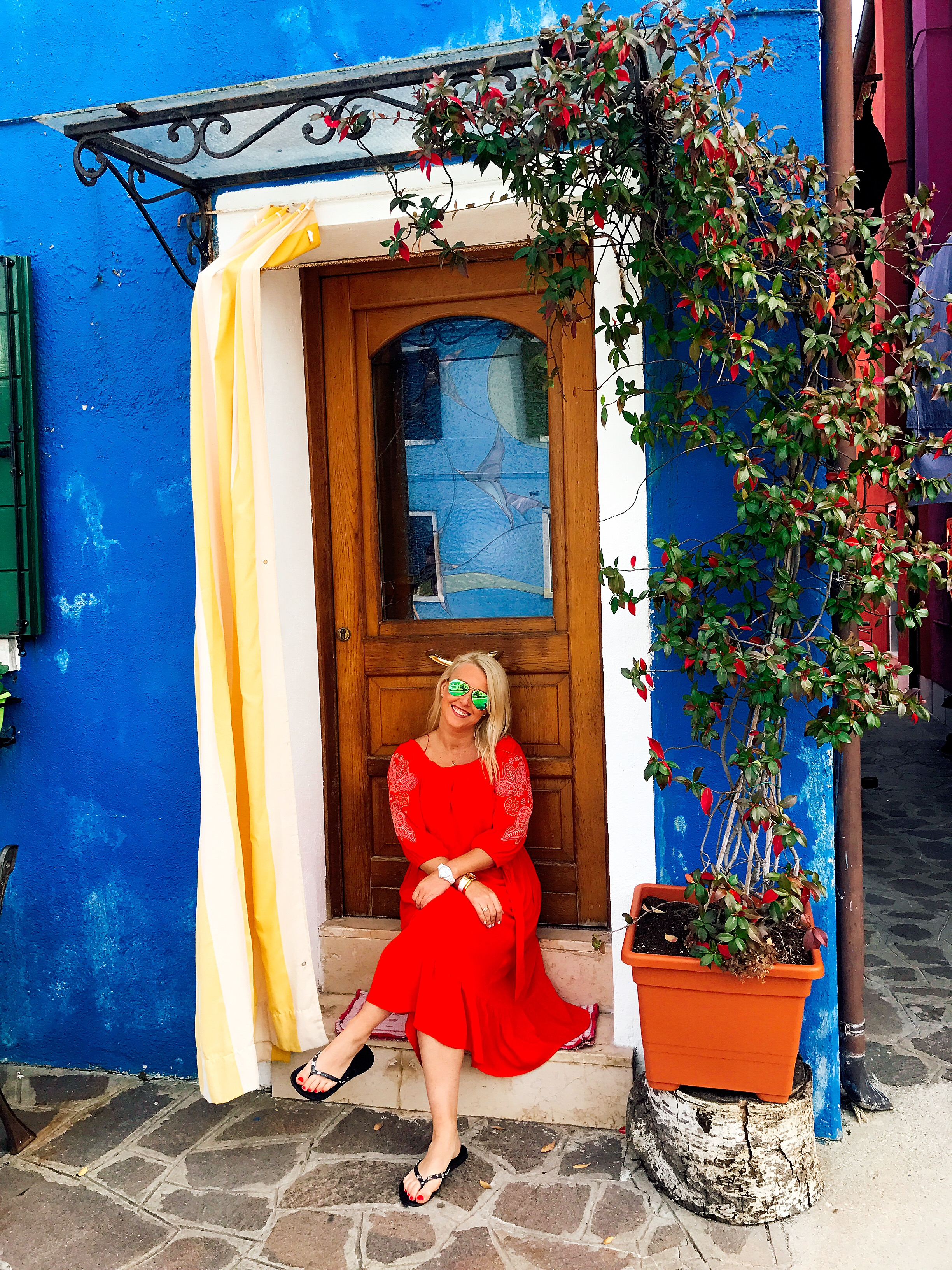 Burano: I feel quite certain people got tired of me taking photos in front of their doorways...whoops!