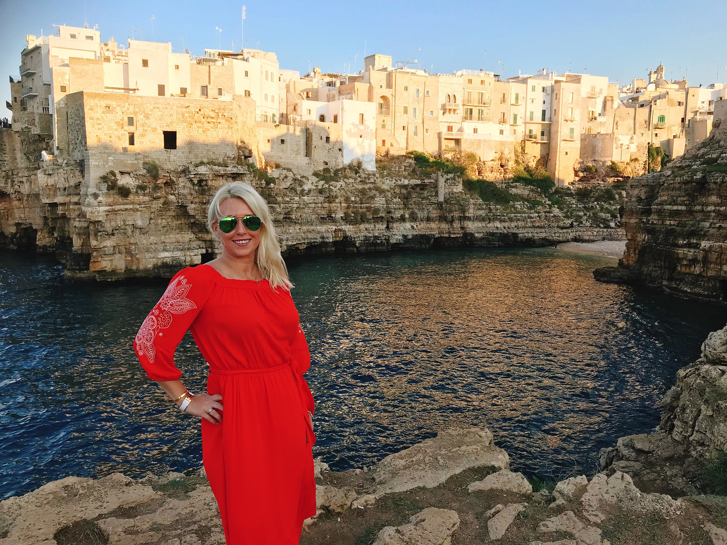 Polignano a Mare: I couldn't say no to this background!