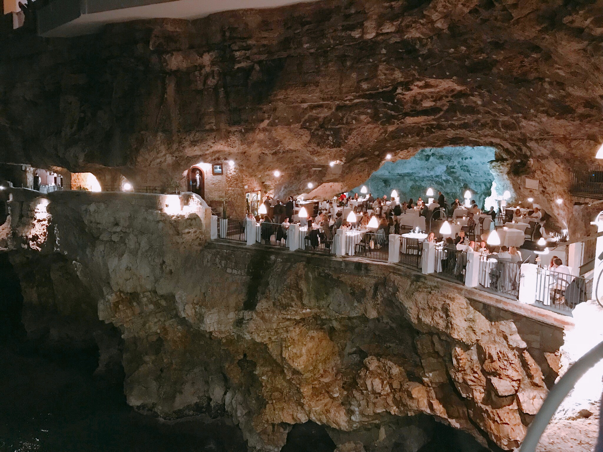 Polignano a Mare: Late Night at the Grotta Palazzese