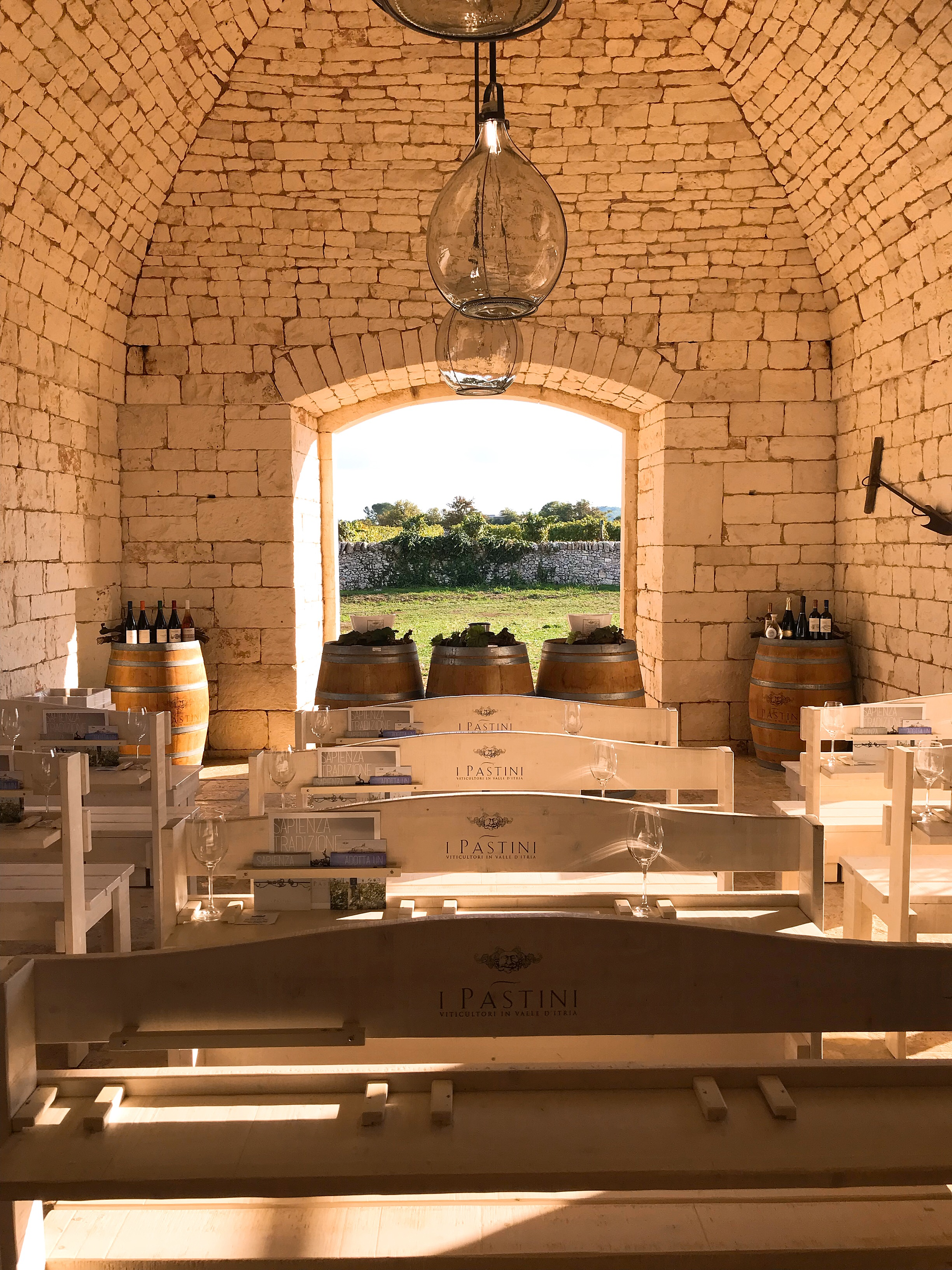 The Tasting Room at I Pàstini