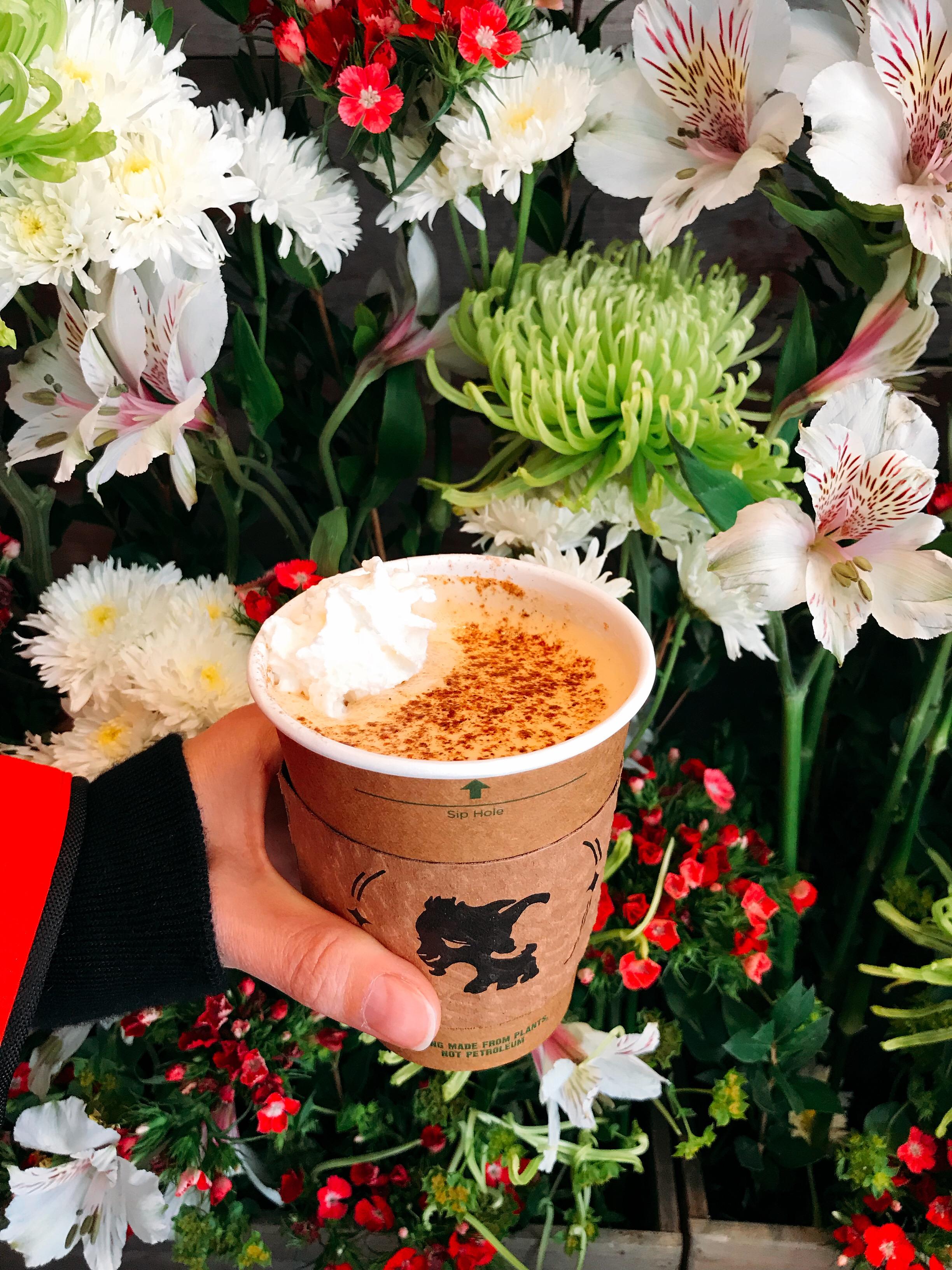 Little Goat Latte: Espresso, Goat Milk, Caramel and Masala Spices