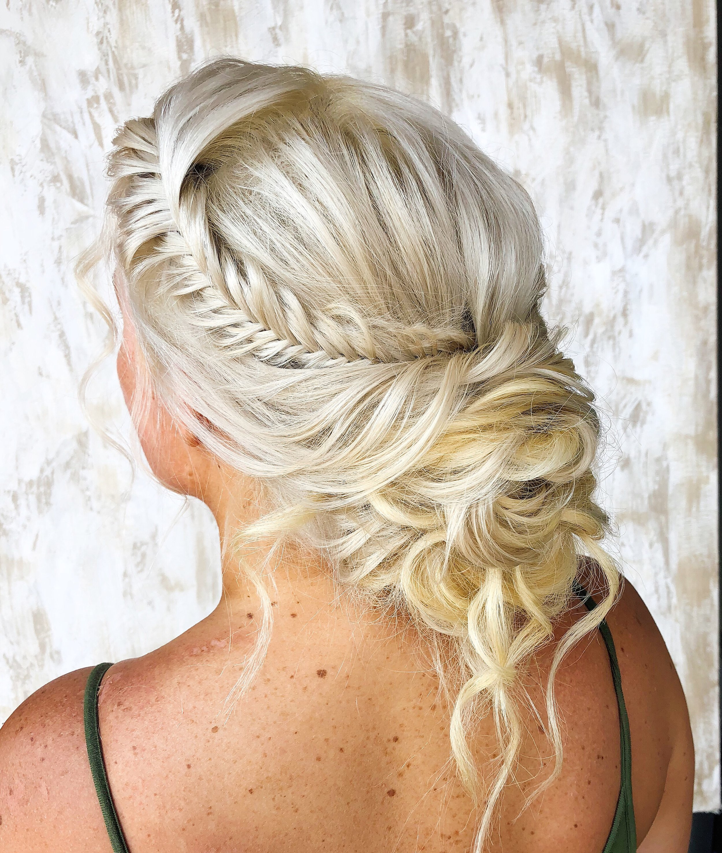 Beautifully Braided Up-Do By Jessica Miller @ Hunter Paige