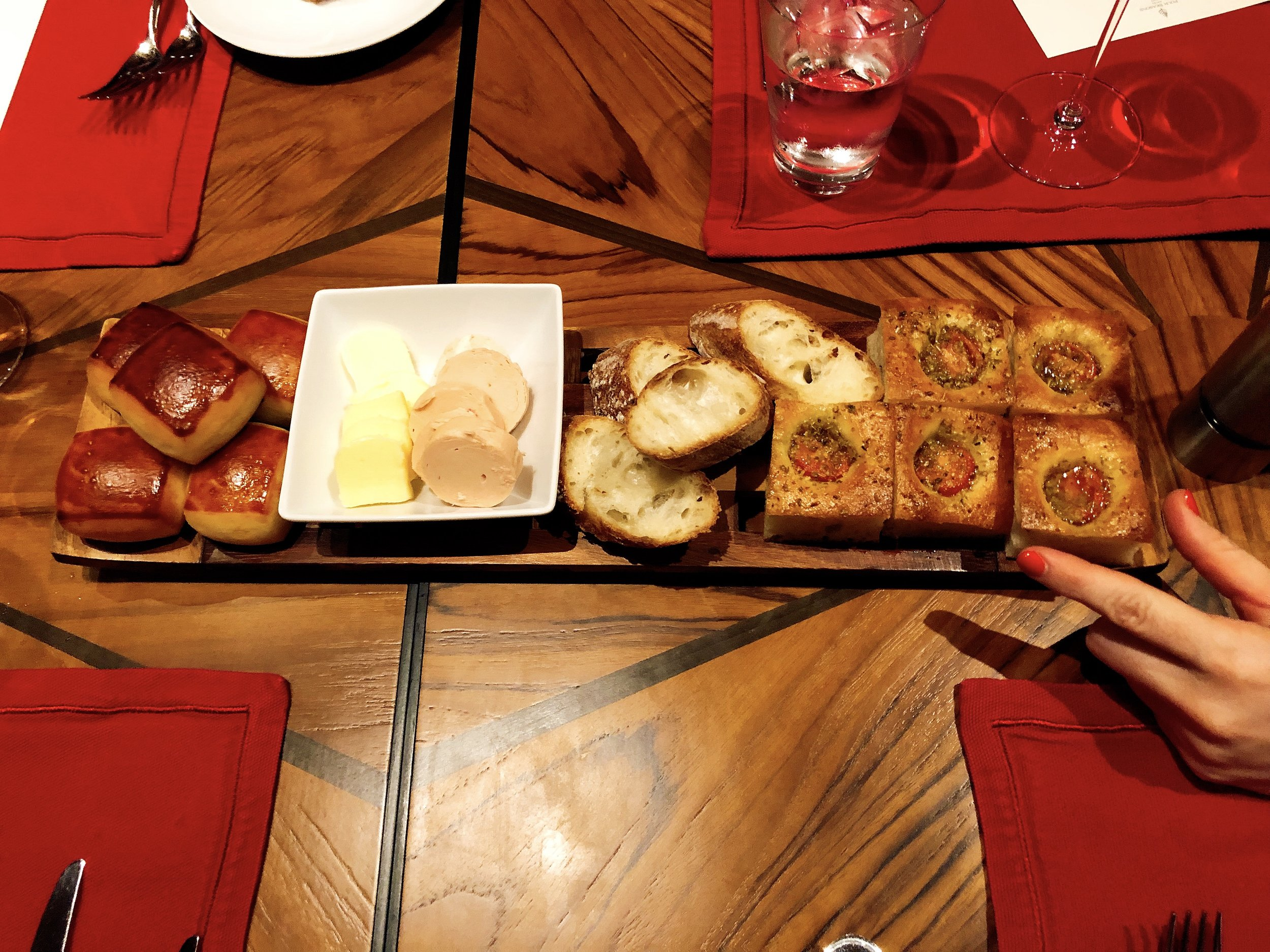 Such A Delicious Assortment Of Breads And Butter